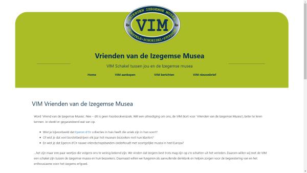 Schermafbeelding www.vimizegem.be